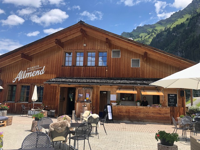 "On Saturday, 4 July 2020 we will start in to the summer season. Our sun terrace is perfect for a cool refreshment after hiking or for a cosy aperitif with friends. See you soon ""ir Allmi daheime"""